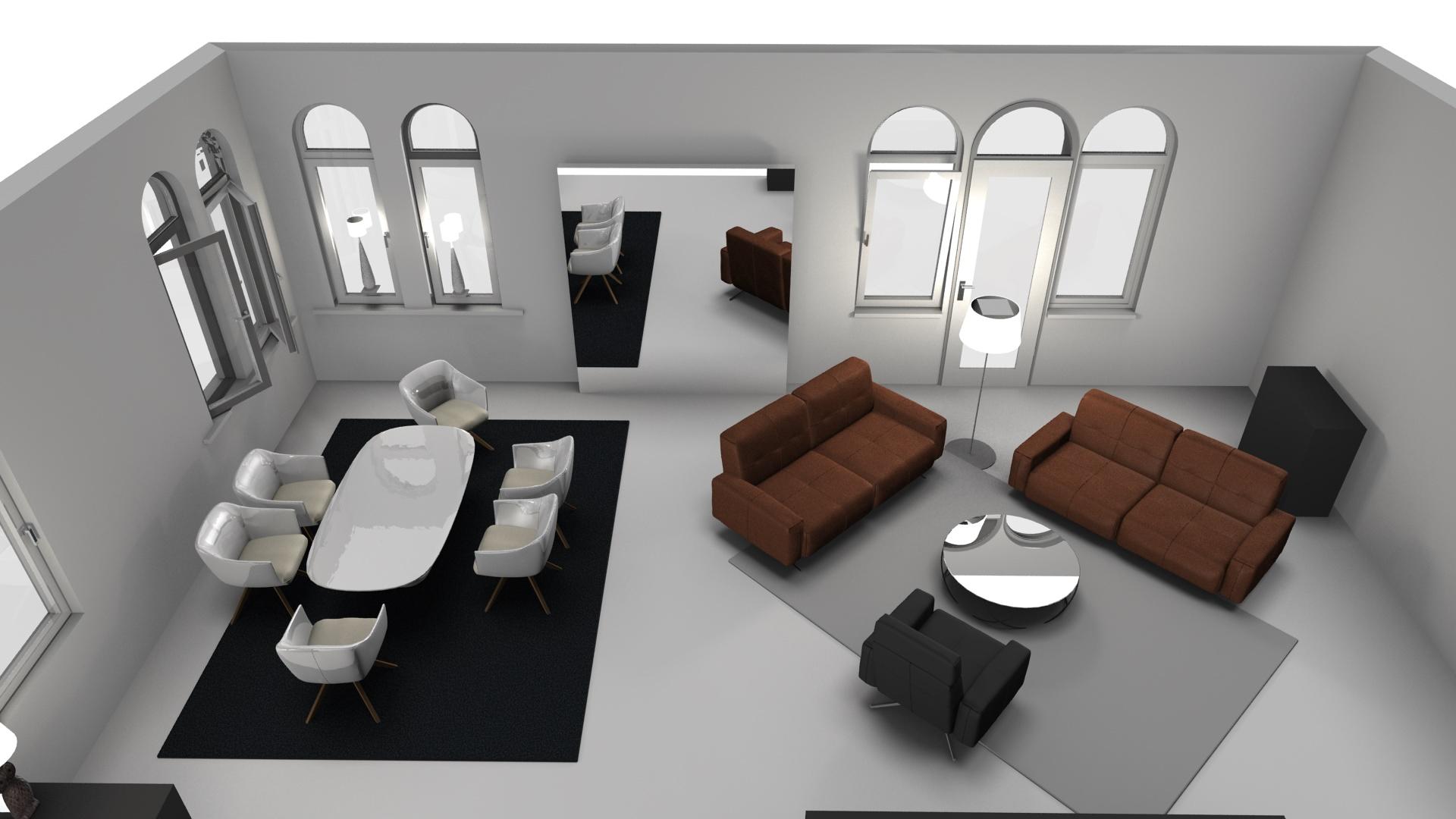 Neu Raumgestaltung Wohnzimmer Beispiele Design